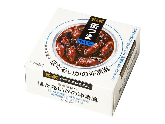 缶つまプレミアム日本海獲りほたるいかの沖漬風