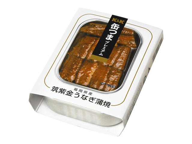 缶つまプレミアム 福岡県産筑紫金うなぎ蒲焼