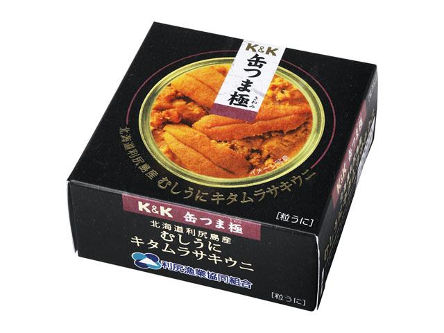 缶つま極 北海道利尻島むしうにキタムラサキウニ