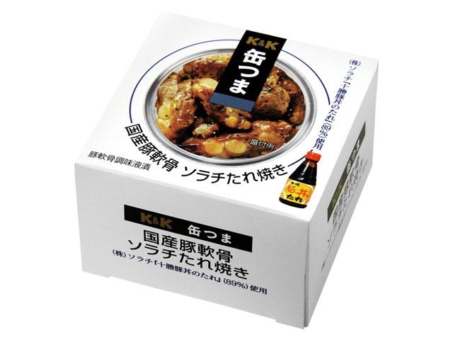 缶つま 国産豚軟骨 ソラチたれ焼き