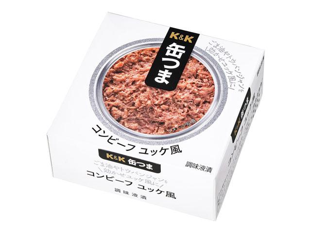 缶つま コンビーフ ユッケ風