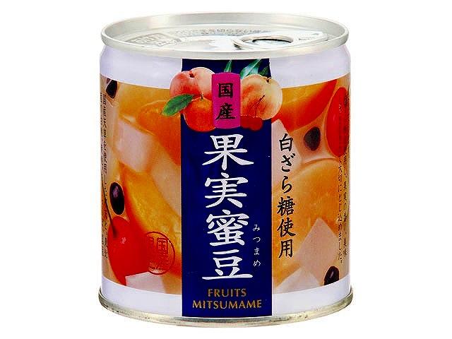 国産 果実蜜豆