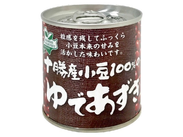 十勝産小豆100%のゆであずき