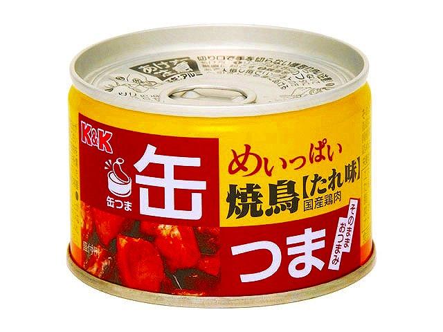 缶つま めいっぱい焼鳥 たれ味