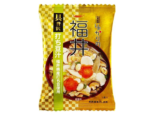 ゆかりの 福井打ち豆汁(福井産打ち豆使用