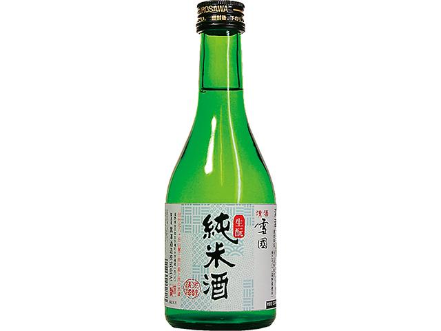 清酒 雪国 生もと純米酒