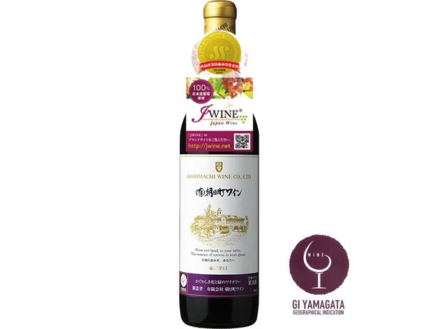 (有)朝日町ワイン 赤 J