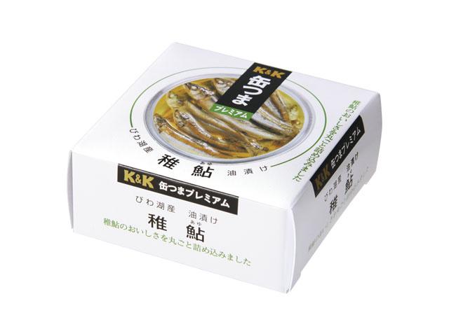 缶つまプレミアム びわ湖産 稚鮎油漬け