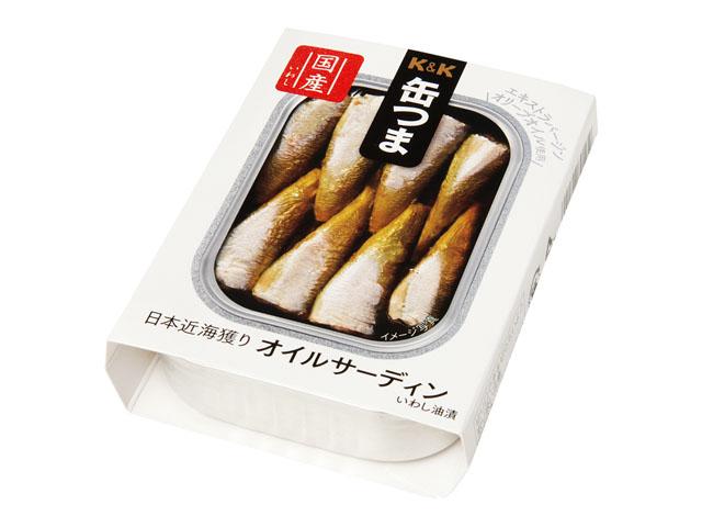 缶つまプレミアム 日本近海どり オイルサーディン