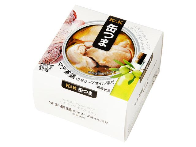 マテ茶鶏のオリーブオイル漬け